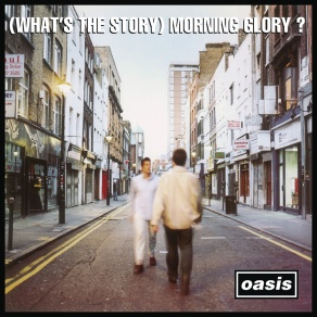 Oasis' (What's the story) Morning glory Album cover in Berwick Street, London. (Courtesy of Music Fanart.tv)